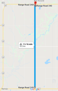 Sunnyside Road, Alberta